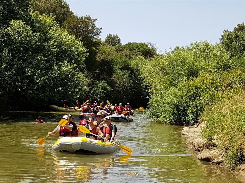 קאייק נהר הירדן